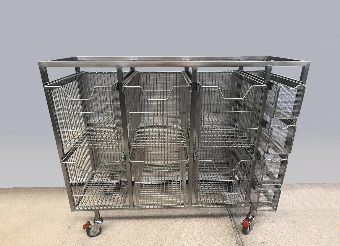 Sterilisable Hospital Storage