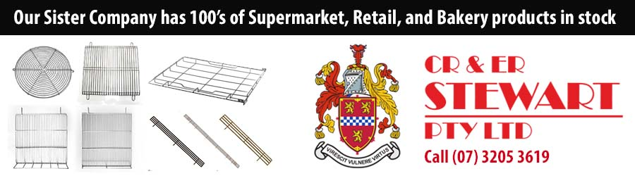 CR & ER Stewart are known Australia wide for the supply of refrigeration parts, display cases, case components and the refurbishment of display cases including supply of new internal components.
