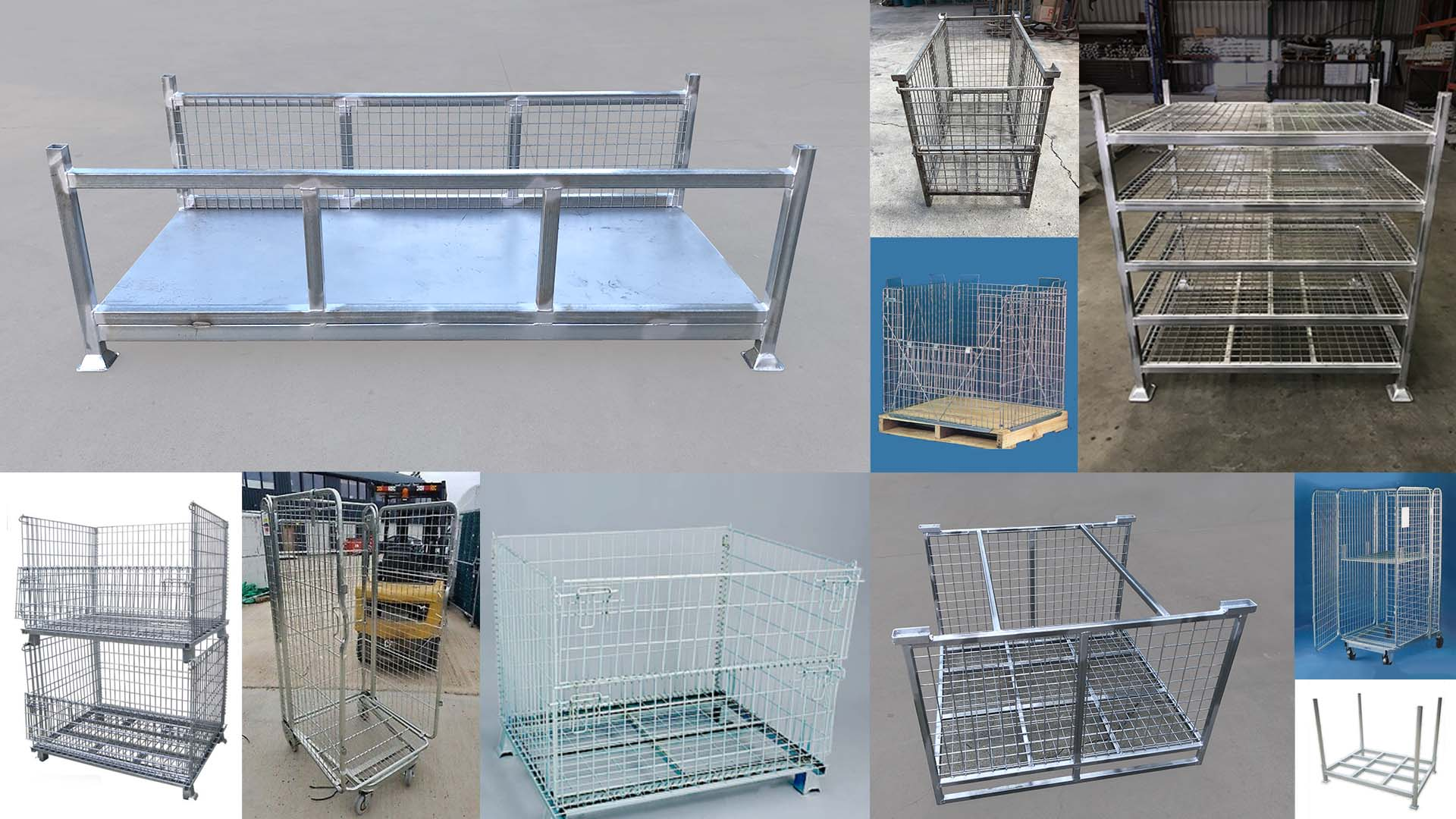 Stillage Cages, Pallet Cages and Roll Cages